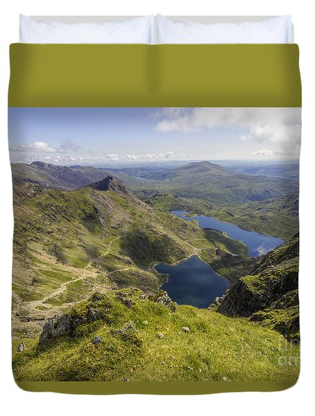 Snowdon Summit Duvet Cover
