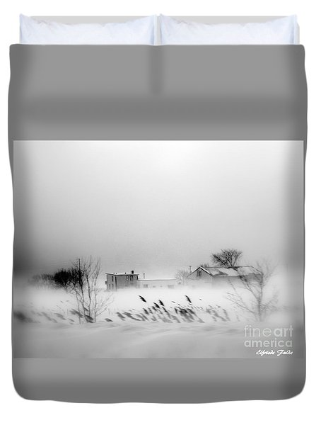 Snowed - In Duvet Cover