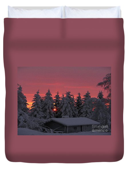 Snowed In Duvet Cover