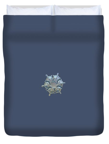 Snowflake Photo - Ice Relief Duvet Cover