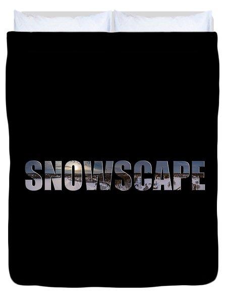 Snowscape Duvet Cover