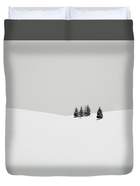 Snowscapes   Almost There Duvet Cover