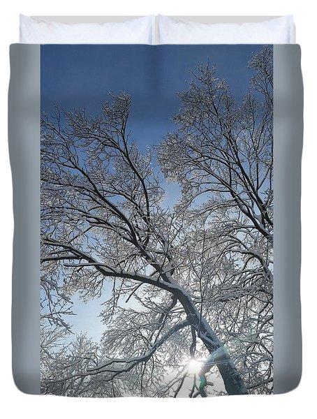 Snowshine Duvet Cover