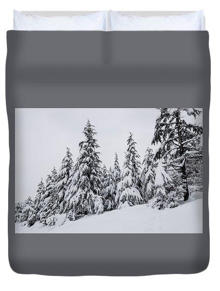 Snowy-1 Duvet Cover