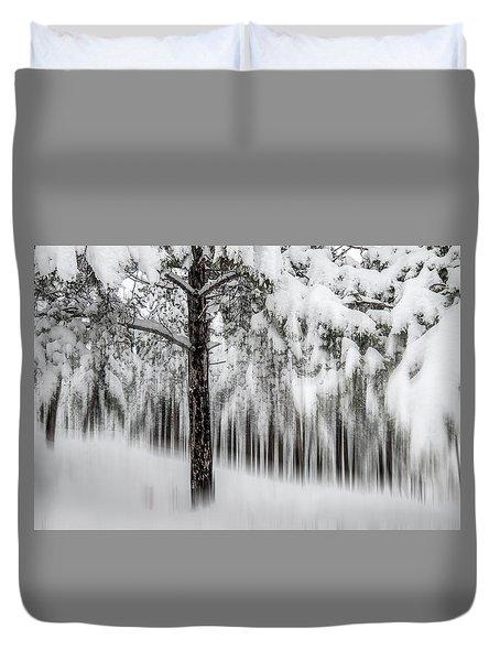 Snowy-2 Duvet Cover