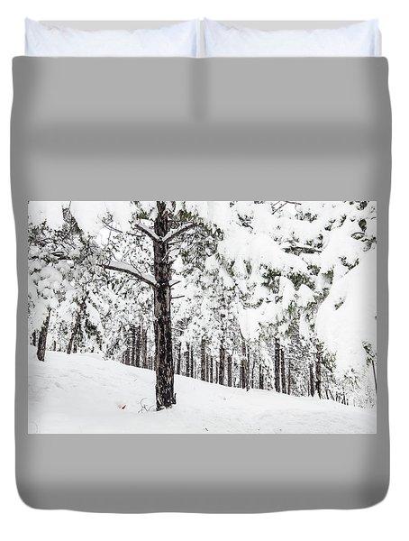 Snowy-4 Duvet Cover