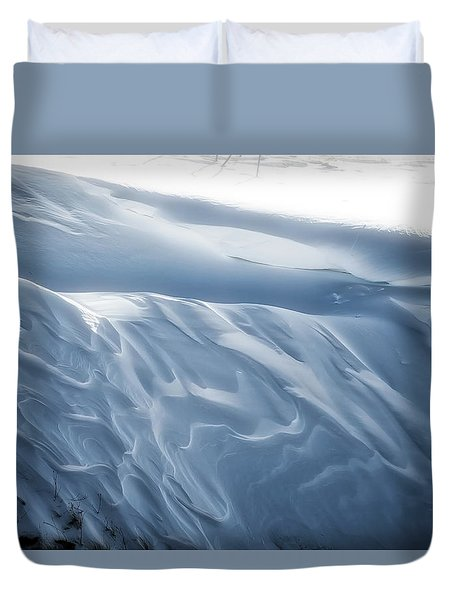Snowy Days Duvet Cover