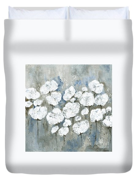 Snowy Mississippi Summer Duvet Cover by Kirsten Reed