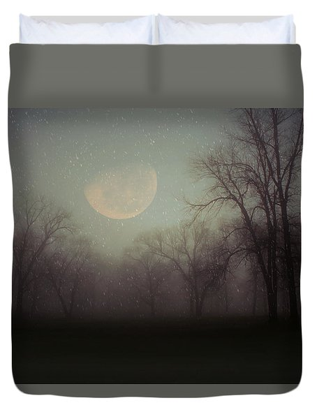 Moonlit Dreams Duvet Cover by Inspired Arts