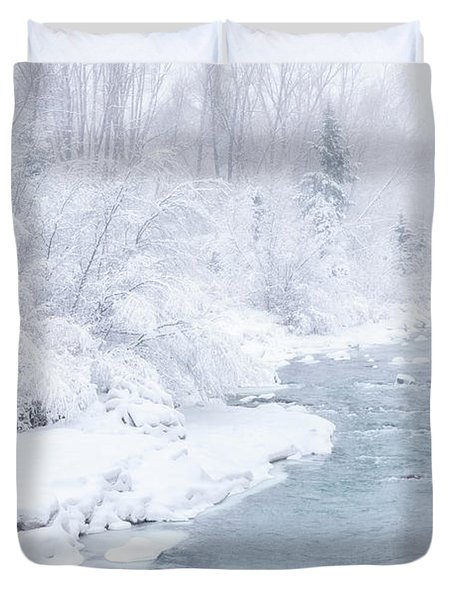 Snowy River Duvet Cover