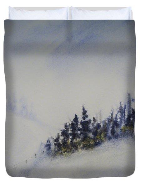 Snowy Winter Duvet Cover