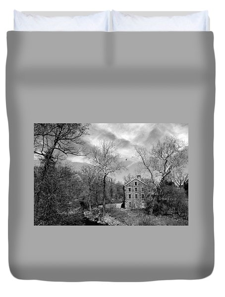 Duvet Cover featuring the photograph Snuff by Diana Angstadt
