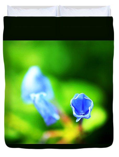 So Blue Duvet Cover by Greg Allore