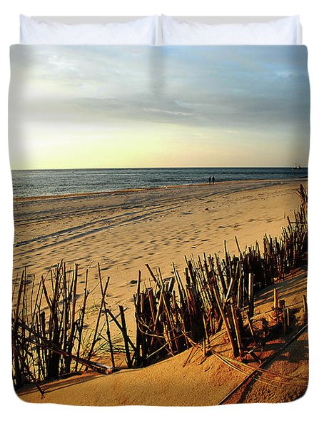 So Calm Duvet Cover by Hannes Cmarits