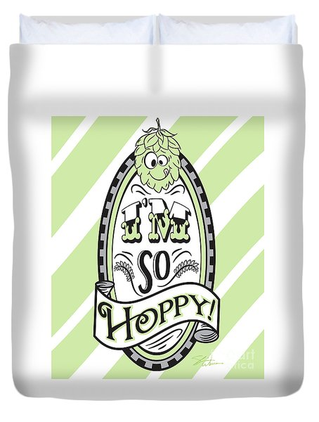 So Hoppy Duvet Cover