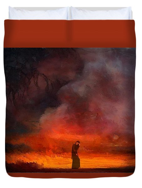 So Lonely Duvet Cover