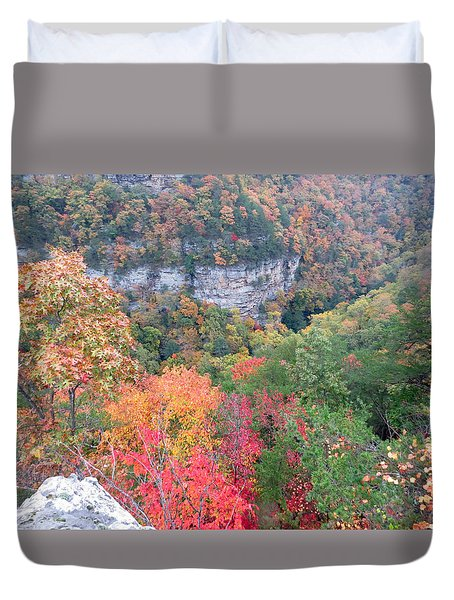 So Many Trees Duvet Cover