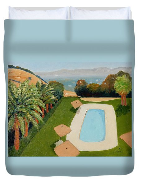 So Very California Duvet Cover by Gary Coleman