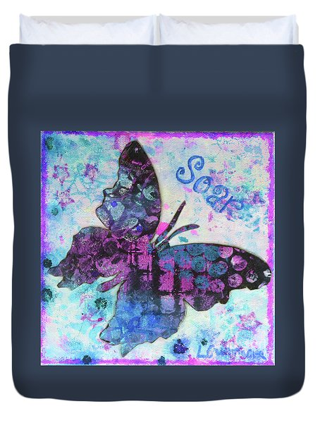 Soar Butterfly Duvet Cover