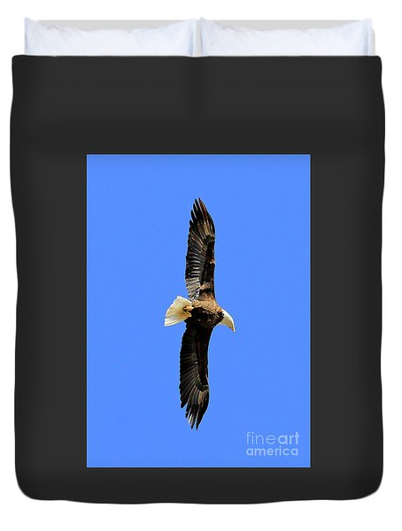 Soar Into The Blue II Duvet Cover