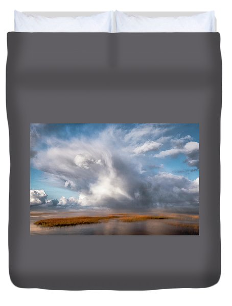 Soaring Clouds Duvet Cover
