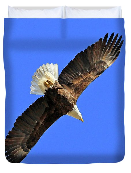 Soaring Into The Blue  Duvet Cover