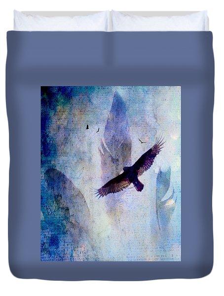 Soaring Duvet Cover by Lisa Noneman
