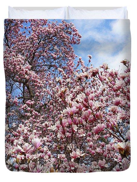 Soaring Magnolia Duvet Cover