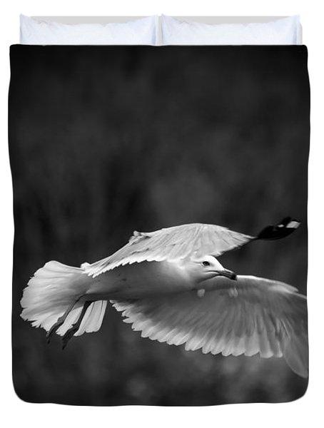 Soaring Seagull Duvet Cover