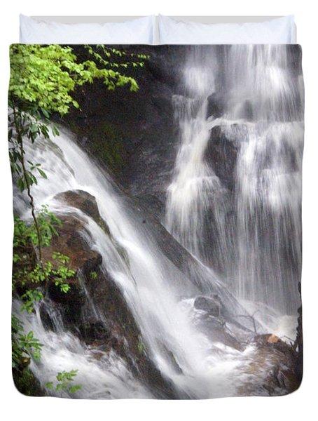 Soco Falls 2 Duvet Cover by Marty Koch