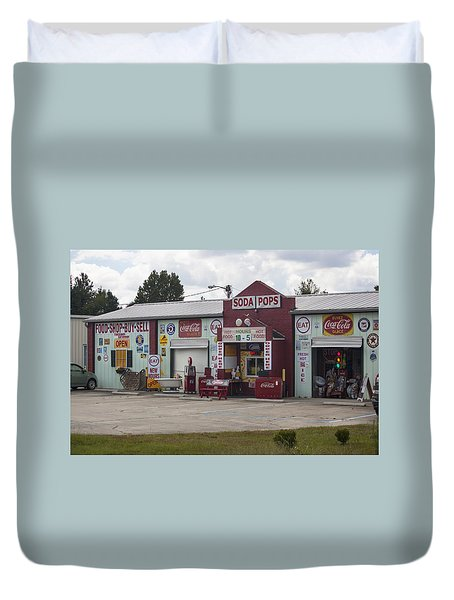 Soda Pops Duvet Cover by Suzanne Gaff