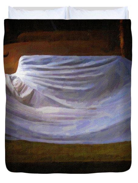 Sofa In Barn Duvet Cover