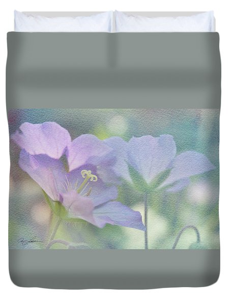 Soft Blue Duvet Cover