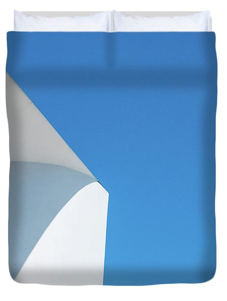 Soft Blue Duvet Cover