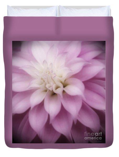 Soft Dahlia  Duvet Cover
