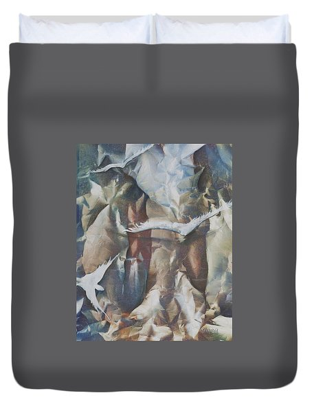 Soft Flight Duvet Cover by Jan VonBokel