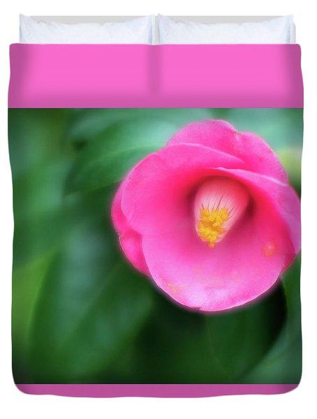 Soft Focus Flower 1 Duvet Cover