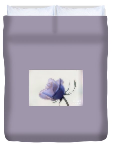 Soft Focus Rose Duvet Cover