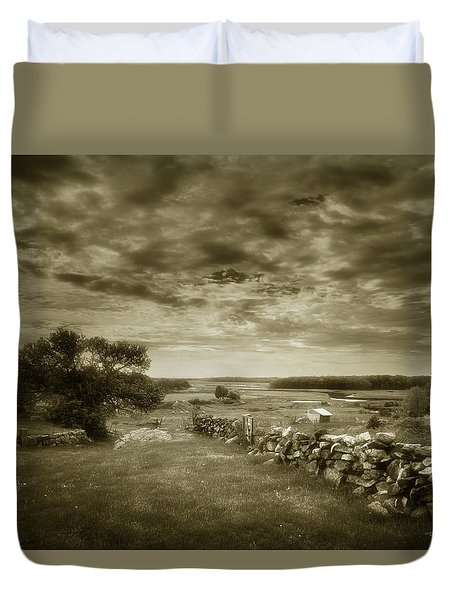 Soft Glow Duvet Cover by Denis Lemay