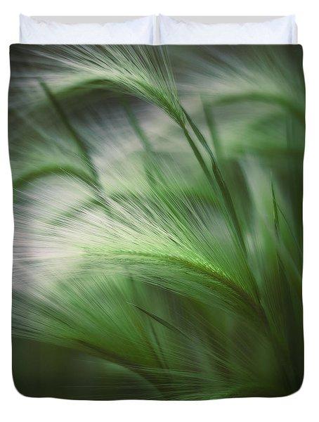 Soft Grass Duvet Cover