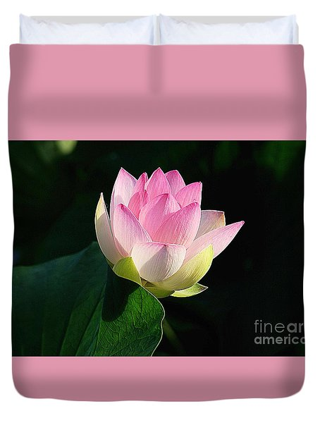 Duvet Cover featuring the photograph Soft Light  by John S