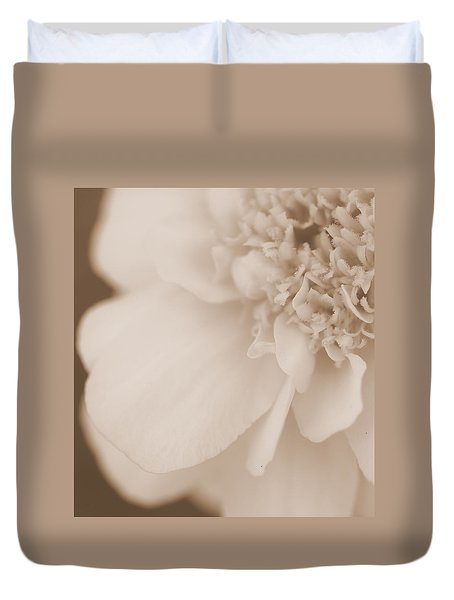 Soft Petals Duvet Cover by Christine Ricker Brandt