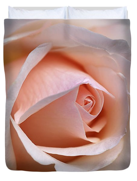 Soft Rose Duvet Cover