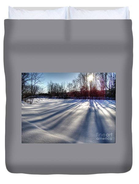 Soft Shadows Duvet Cover
