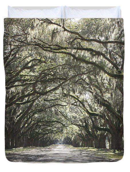 Soft Southern Day Duvet Cover by Carol Groenen