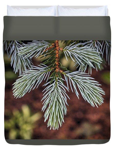 Soft Spruce Duvet Cover