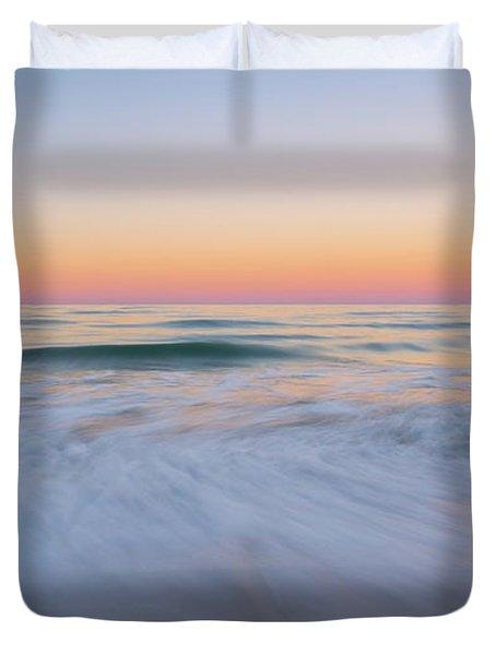Soft Sunset  Duvet Cover