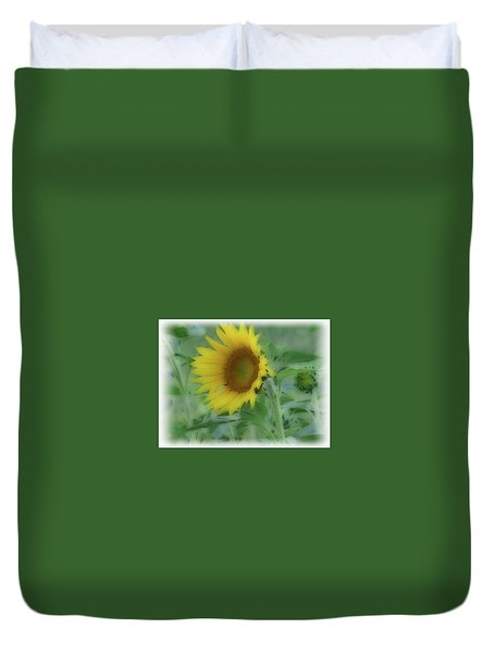 Soft Touch Sunflower Duvet Cover