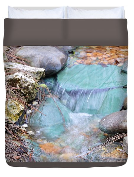 Softly Falling Duvet Cover