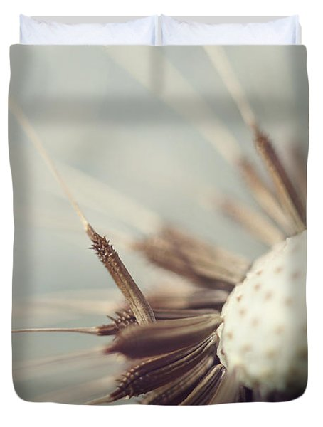 Duvet Cover featuring the photograph Softly Slowly by Amy Tyler